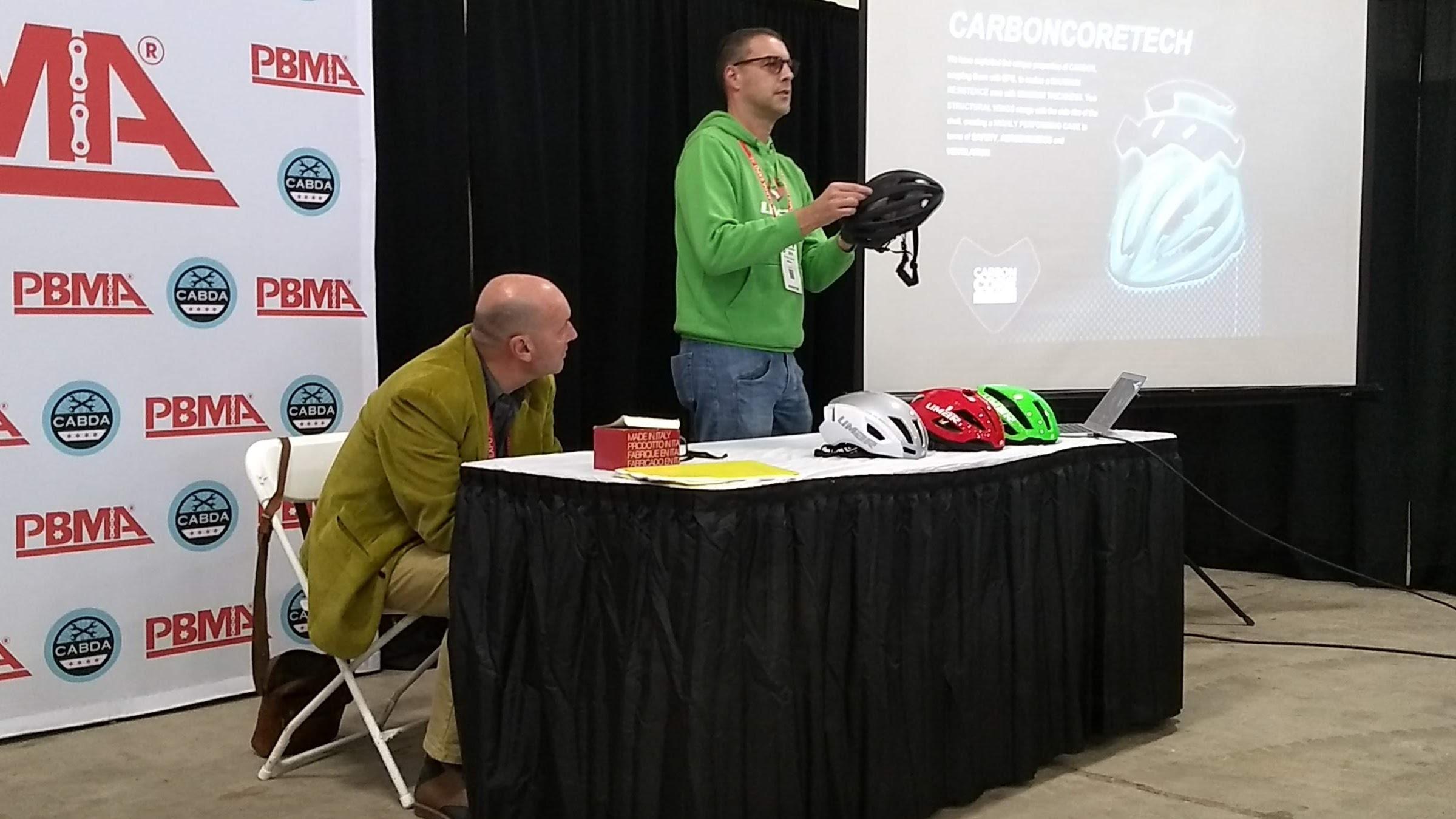 Limar helmets seminar by Giovanni Caporali