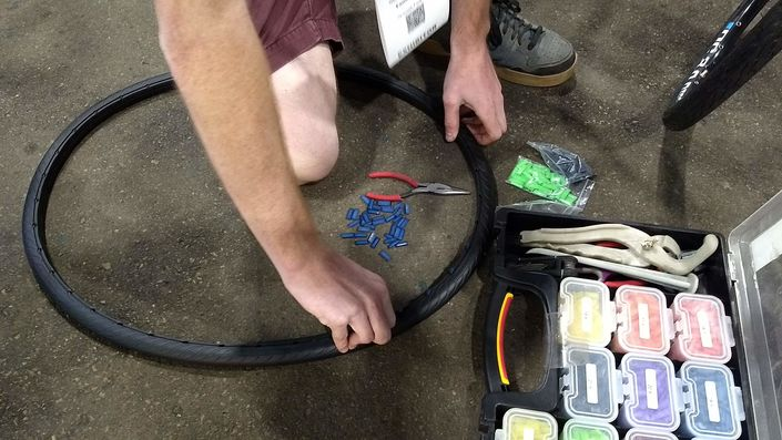 Installing Tannus Airless Tires