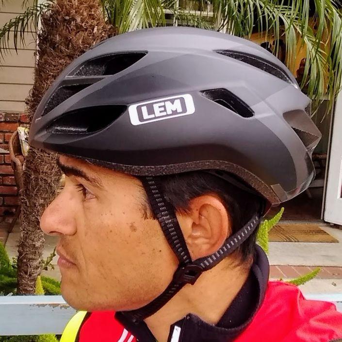 LEM Volata Road Bike Helmet - Wearing It