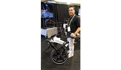 GoCycle GX Folding E-Bike Folded