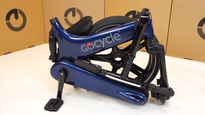 G3C Carbon Folding E-Bike Folded