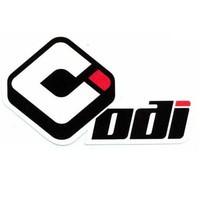 ODI Single-Ply MX Ruffian Full-Waffle Grips Red H02RFR