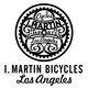 I. MARTIN BICYCLES Logo