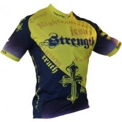 b1ab12709 Ascend Sportswear Men s Armor of God Cycling and Biking Jersey