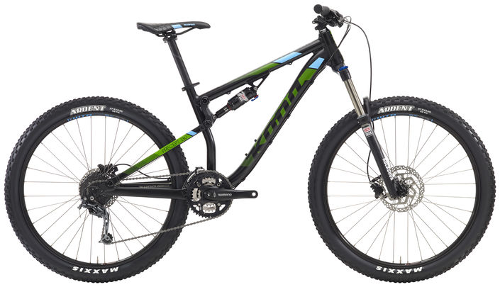 Kona Precept 130 2016 full suspension xc bike  width=