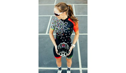 'Ambitious Sport' Queen of the Mountain Cycling Kit