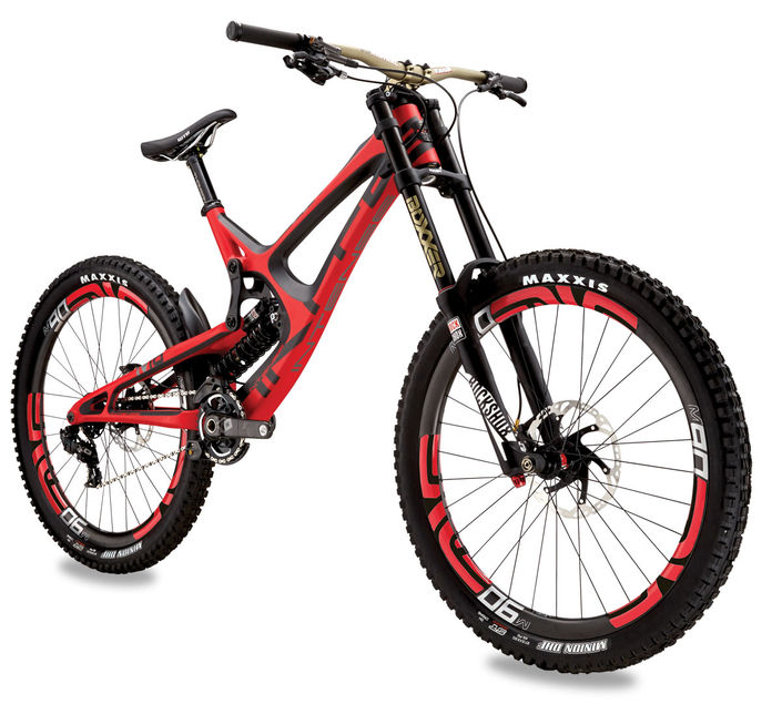 Intense M16 women's downhill mountain bikes