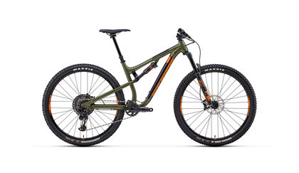 Rocky Mountain Instinct Alloy 70 (2018) - Green/Orange