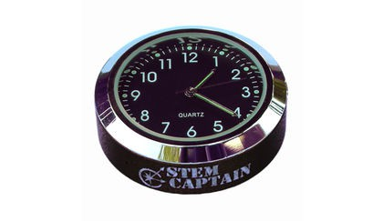 StemCAPtain Stem Cap Accessories - Clock, Compass, Picture Frame, Thermometer