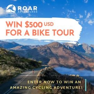 Win 500 for a bike tour by roar adventures br