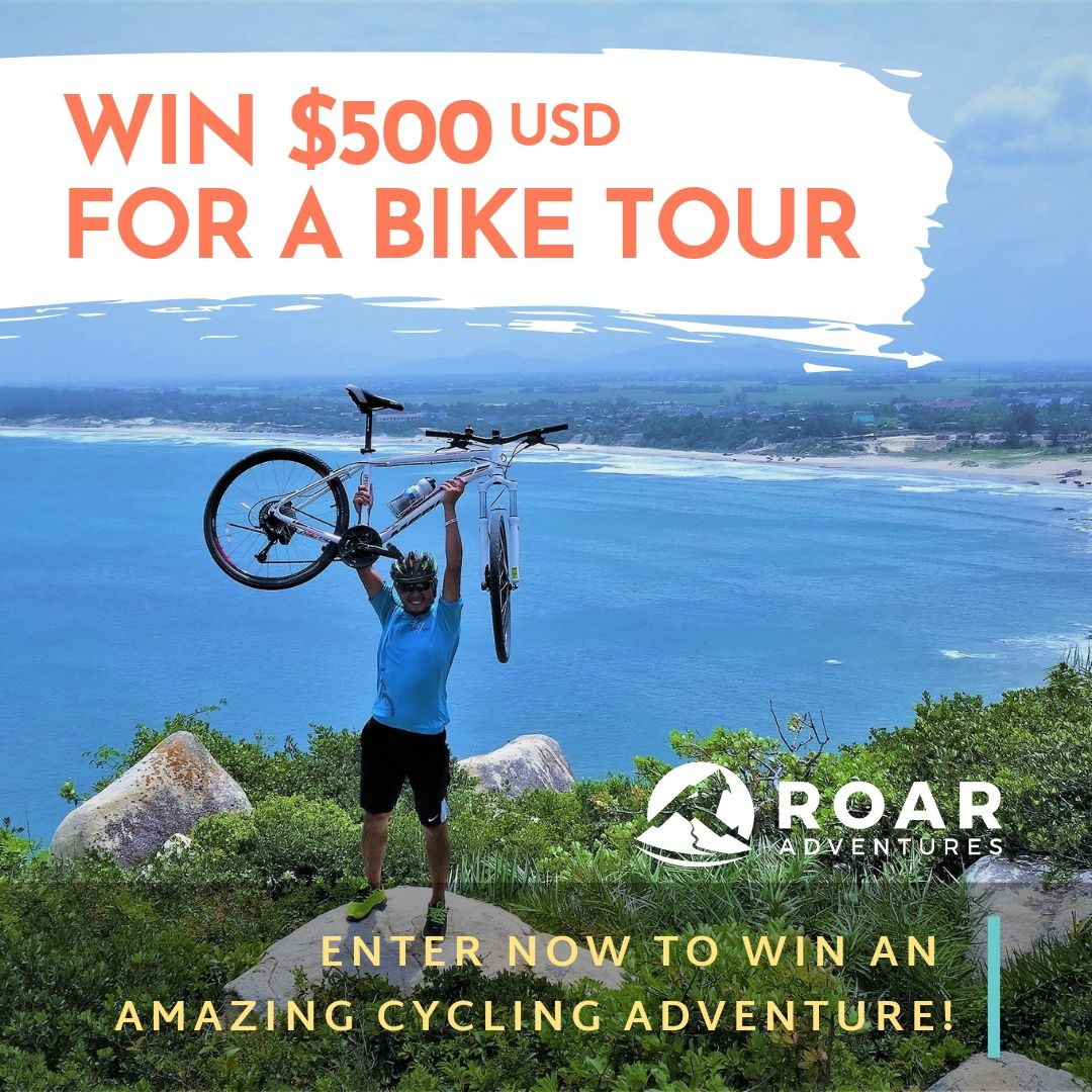 Win 500 for a bike tour 2 sq for bra