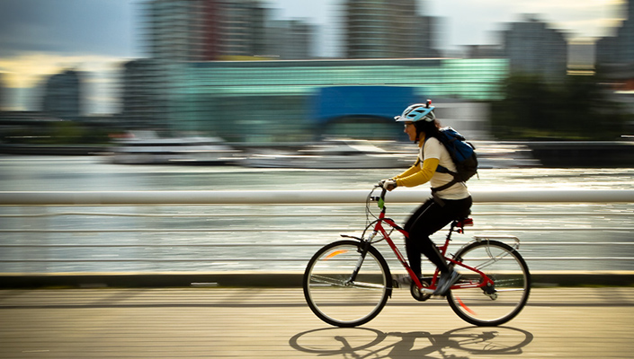 How to choose a safe cycling route