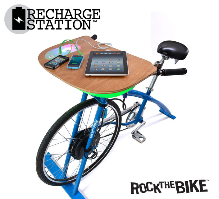 Rock the Bike Recharge Station 2017