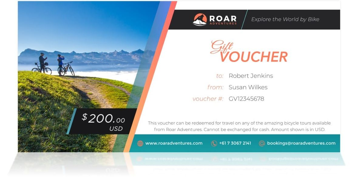 Roar Adventures Gift Voucher